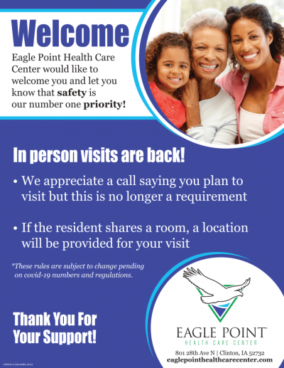 Visitation Policy, updated 7.2.21